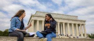 WAU Honor Societies Students at Lincoln Memorial