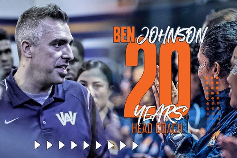 WAU Acro-Airs Coach Benjamin Johnson