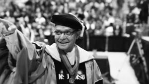 President Spence Graduation
