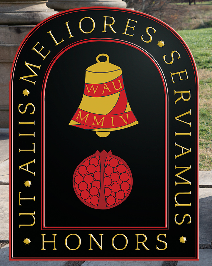 Honors College Logo _ Pillars