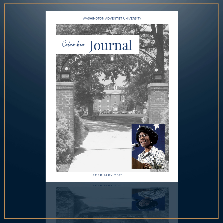 Columbia Journal Cover for February 2021