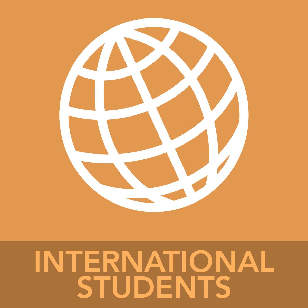 INTERNATIONAL STUDENTS ICON BUTTON