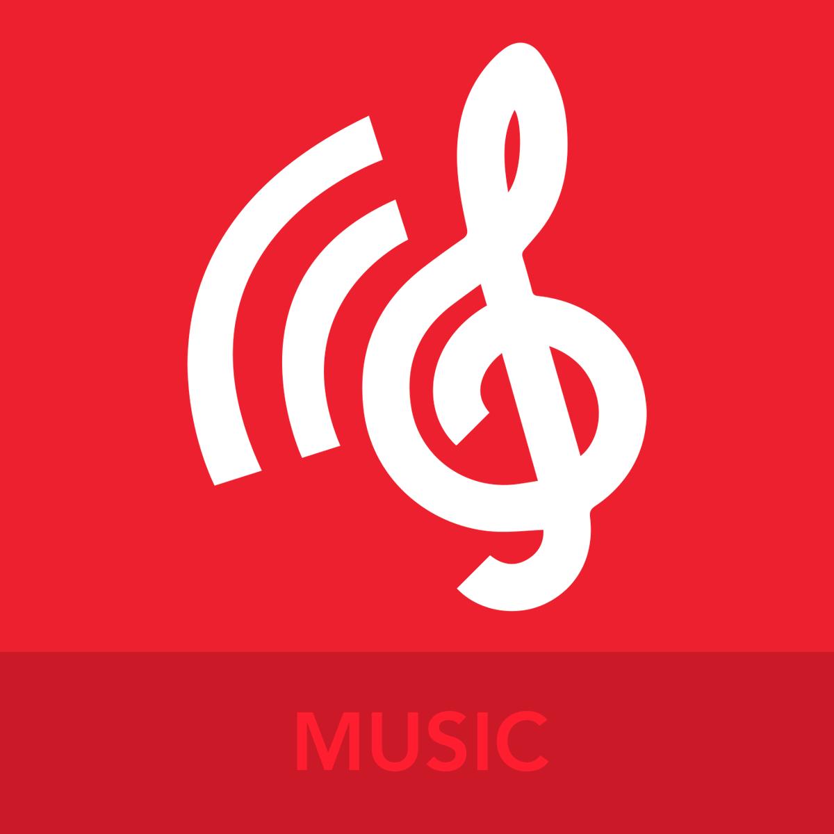 MUSIC ICON BUTTON