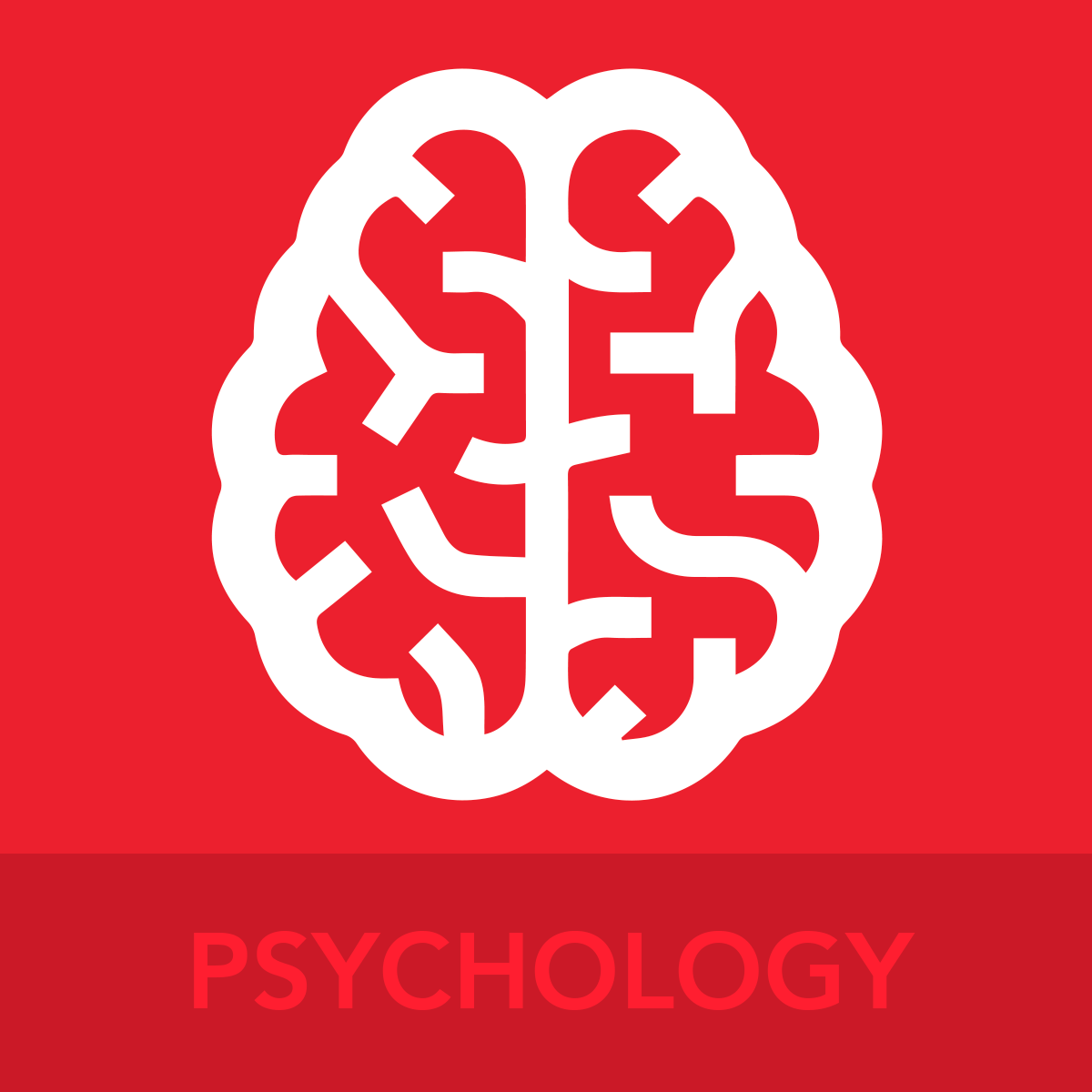 PSYCHOLOGY ICON BUTTON