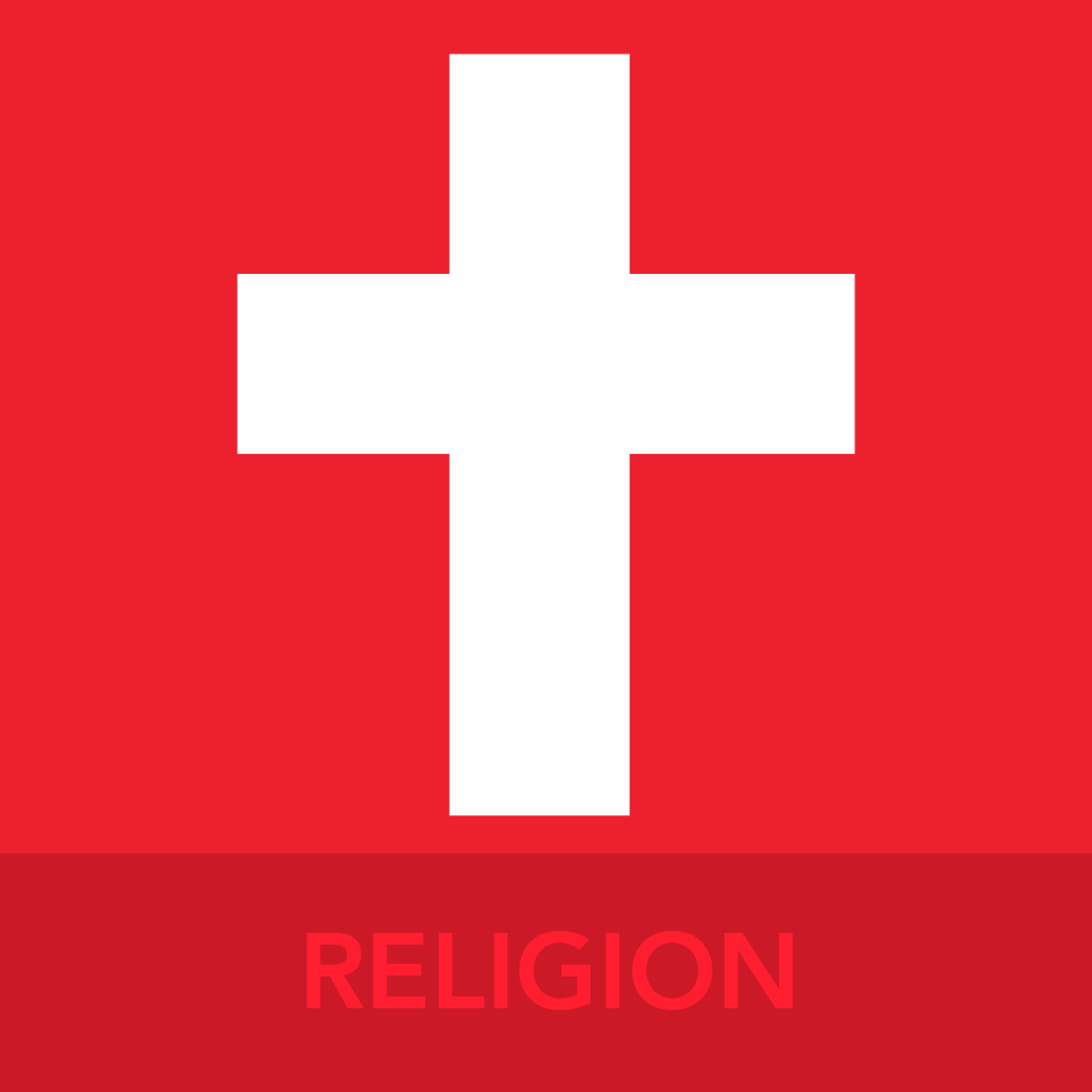 RELIGION ICON BUTTON