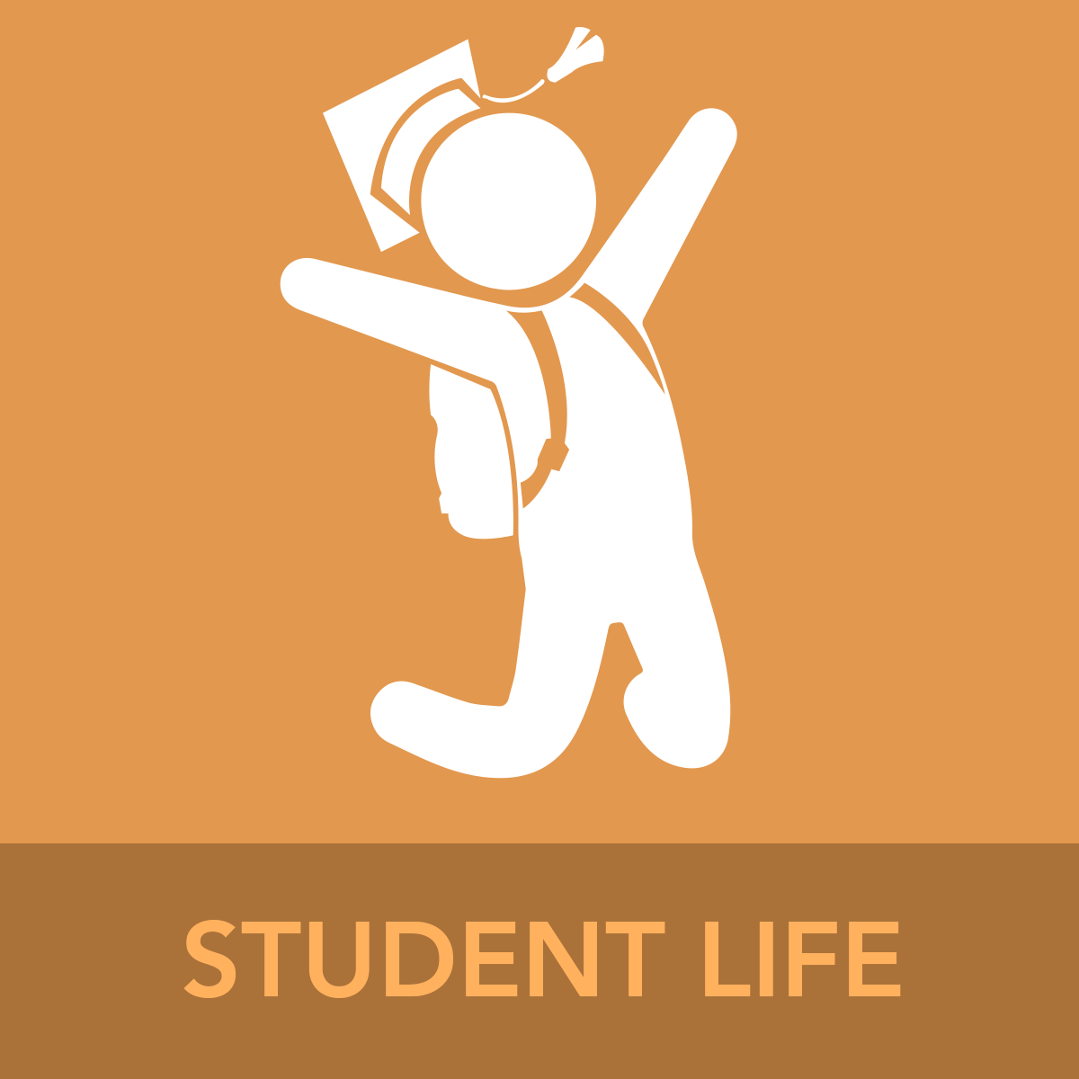 STUDENT LIFE ICON BUTTON