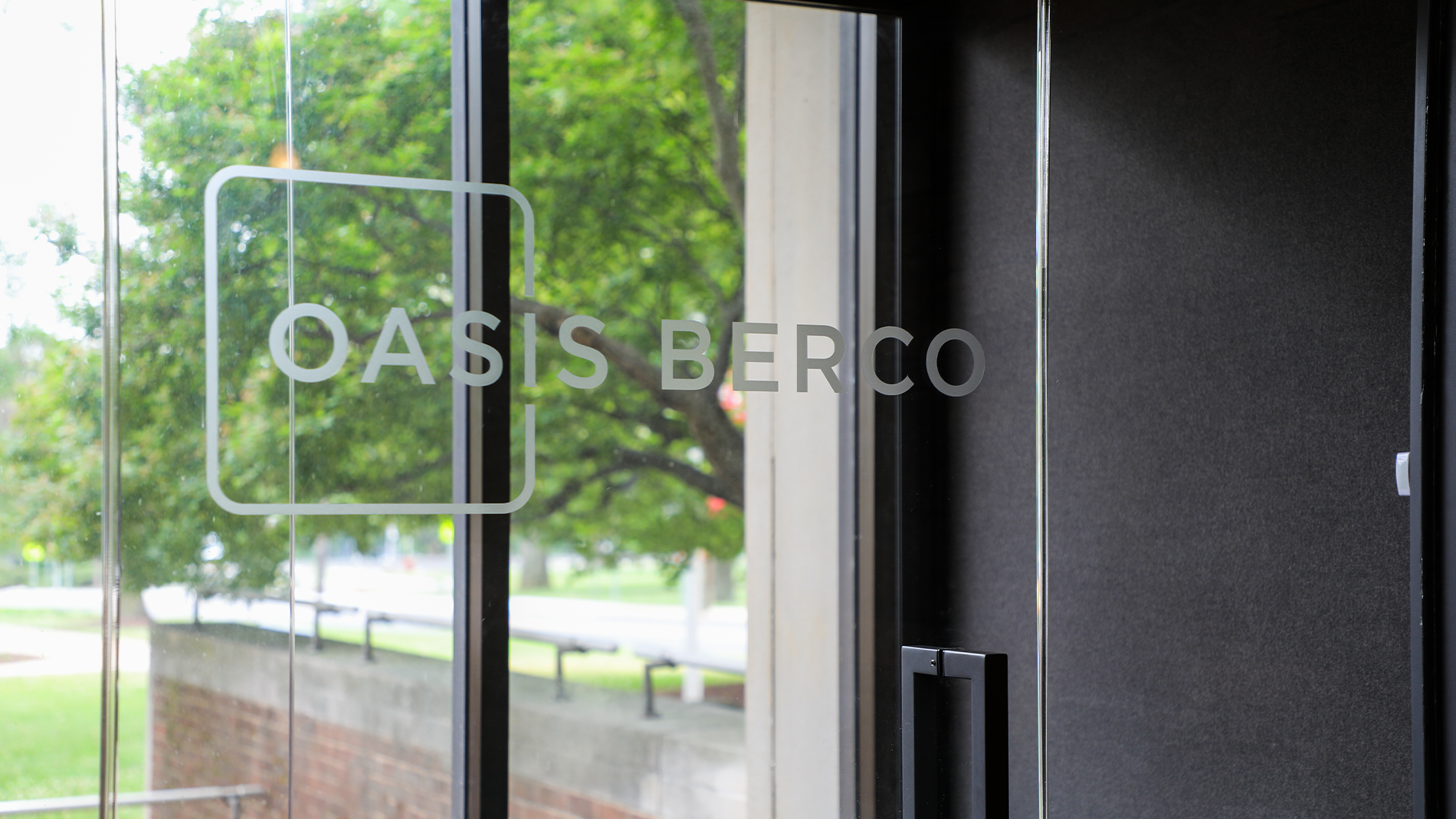 OASIS BERCO: Team Pod Installed on WAU Campus
