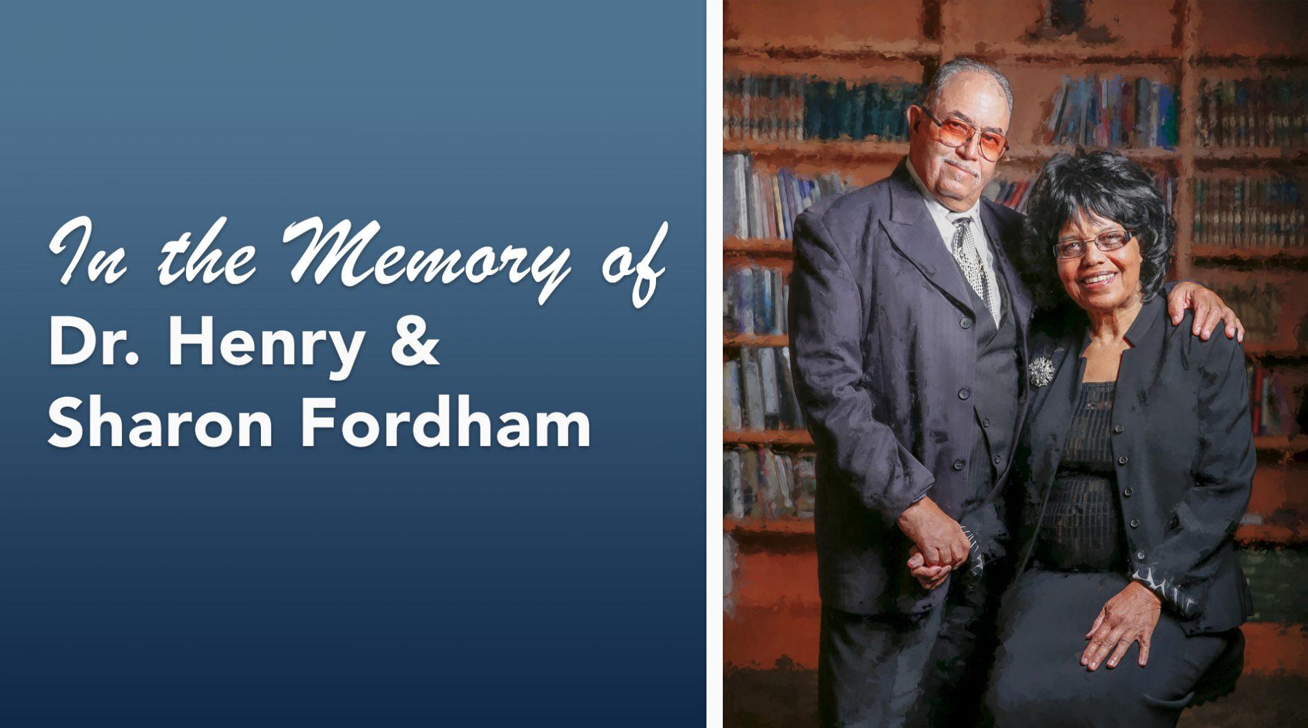 Honoring the Fordhams