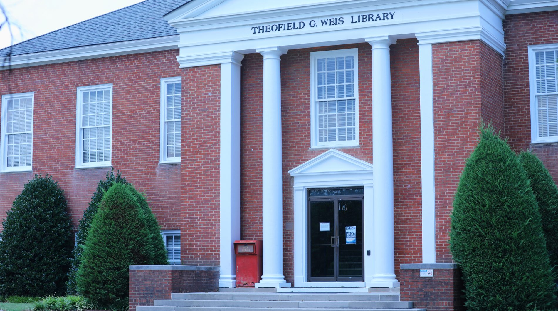 30K Awarded to Theofield G. Weis Library