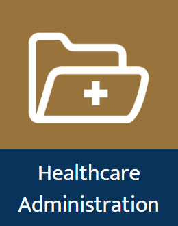 A guide to the library's online databases for healthcare administration research.