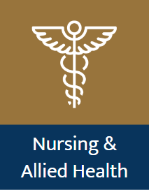 A guide to the library's online nursing and allied health encyclopedias and databases.